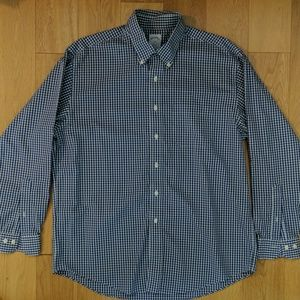 Brooks Brothers Navy Gingham shirt